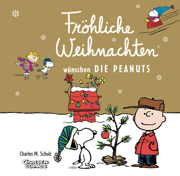 fr hliche weihnachten w nschen die peanuts von charles m. Black Bedroom Furniture Sets. Home Design Ideas
