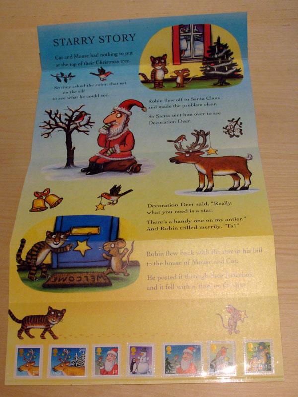 Axel Scheffler Briefmarken Christmas Presentation Pack