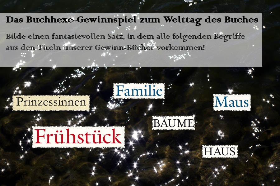 Buchhexe-Gewinnspiel zum Welttag des Buchs 2013