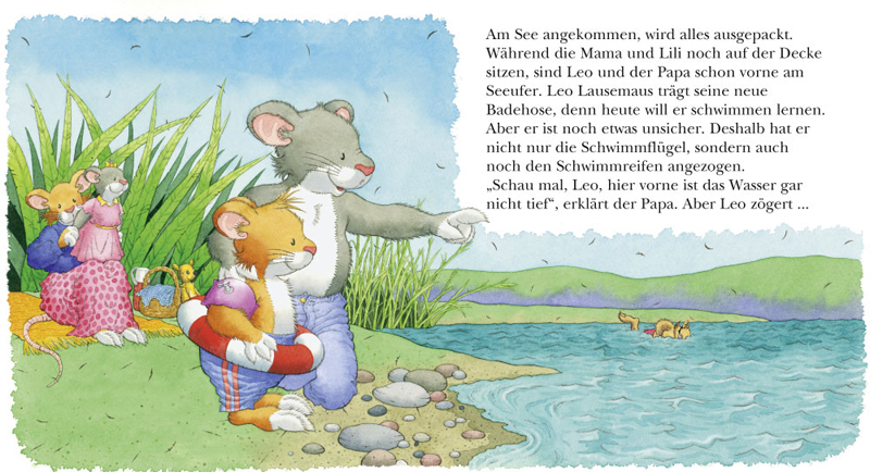 Illustration-Leo-lernt-schwimmen