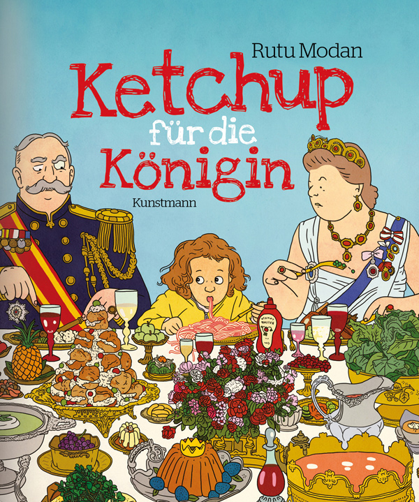 ketchup f r die k nigin von rutu modan rezension von der buchhexe. Black Bedroom Furniture Sets. Home Design Ideas