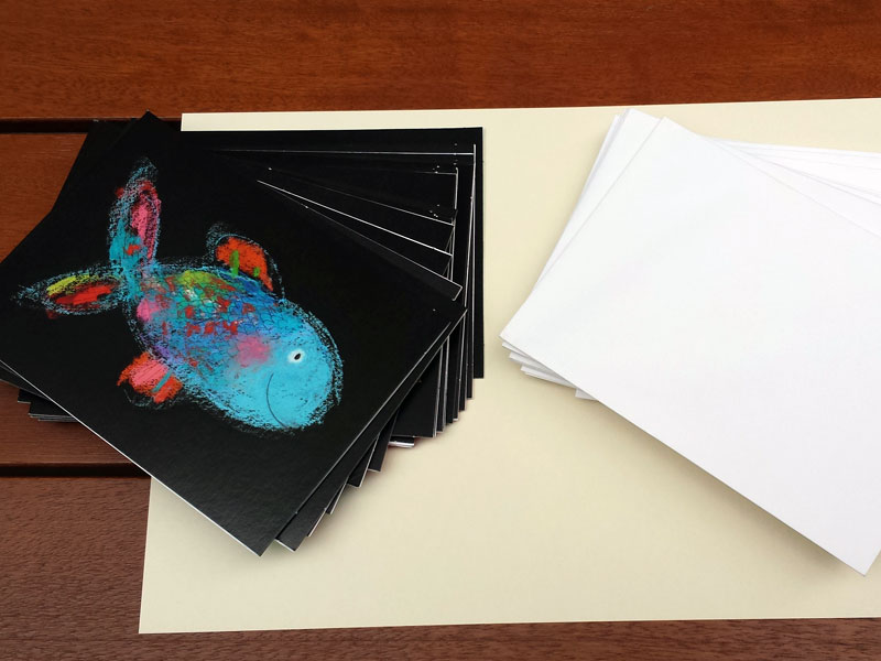 Postkarten Mies van Hout
