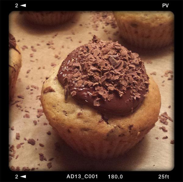 "Vanillemuffins aus dem Kochbuch ""Vegan: Tut gut, schmeckt gut"" von Jérôme Eckmeier"