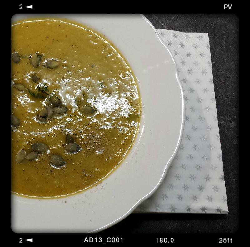 Birnen-Kürbis-Suppe