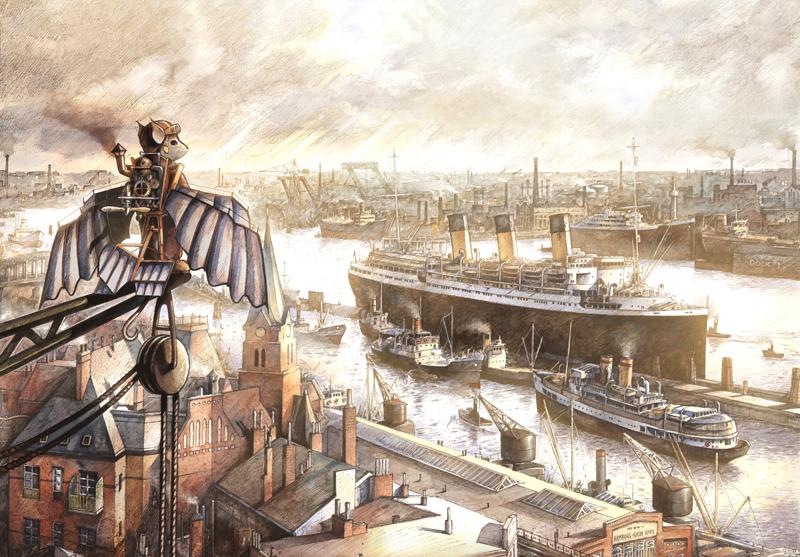 Torben Kuhlmann - FlyingMouse-Hafen