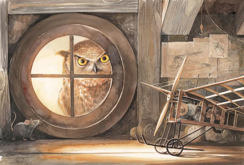 Illustration aus Lindbergh von Torben Kuhlmann - Lindbergh-Werkstatt