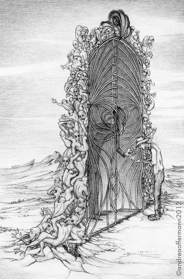 Andrea Offermann - Illustration zu Broken Lands