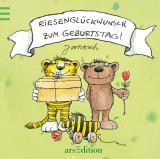 Janosch - Riesenglückwunsch zum Geburtstag!