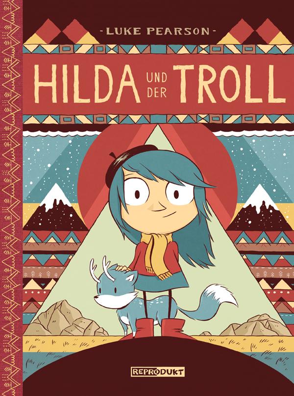 Hilda und der Troll von Luke Pearson   Rezension von der Buchhexe