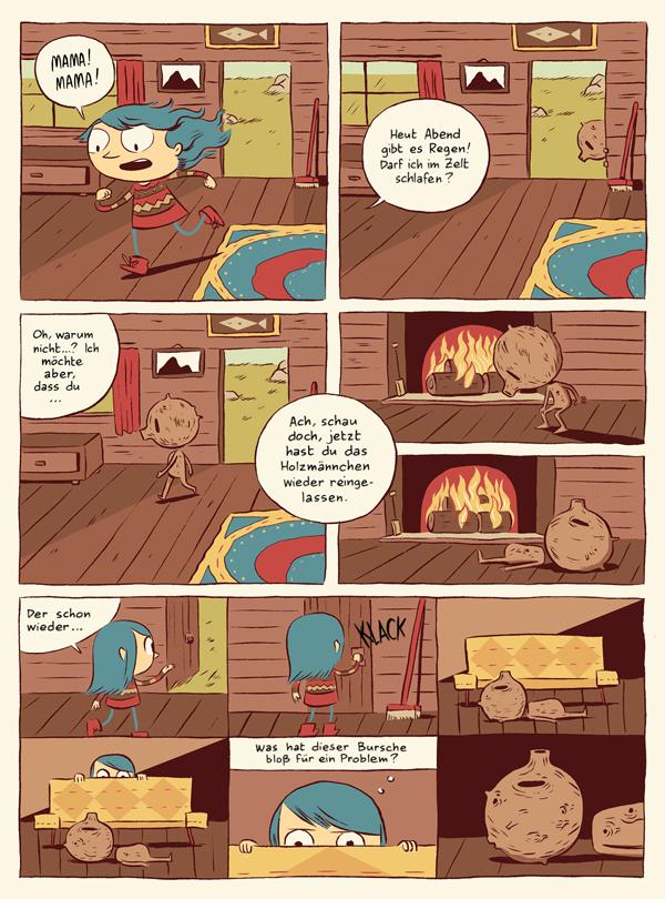 Leseprobe aus Hilda und der Troll